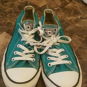 Converse all star, aqua green great condition
